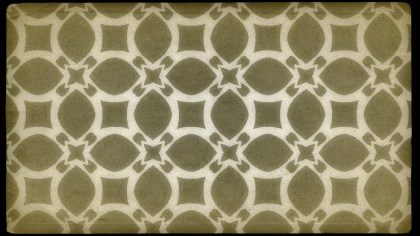 Ecru Vintage Ornamental Seamless Pattern Wallpaper Template