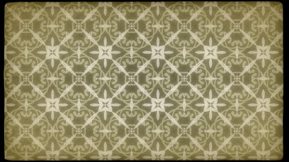 Ecru Vintage Seamless Ornamental Pattern Wallpaper