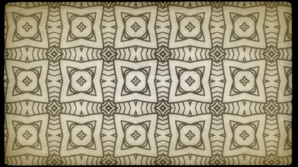 Ecru Vintage Decorative Floral Pattern Background
