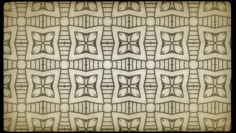 Ecru Vintage Decorative Floral Seamless Pattern Background Image
