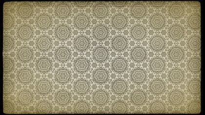 Vintage Ornament Pattern Background Template