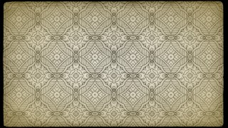 Ecru Vintage Ornamental Seamless Pattern Background Design