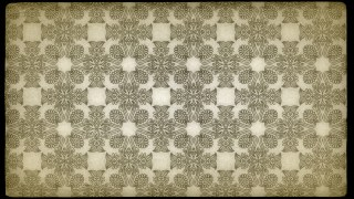 Ecru Vintage Flower Background Pattern