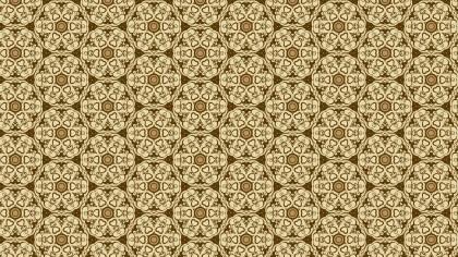 Ecru Vintage Seamless Floral Background Pattern