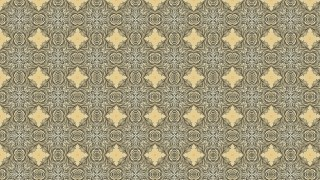 Ecru Vintage Decorative Floral Seamless Pattern Background Image
