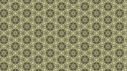 Ecru Vintage Seamless Floral Wallpaper Pattern