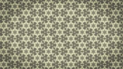 Ecru Vintage Ornament Background Pattern Image