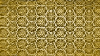 Gold Vintage Seamless Wallpaper Background