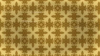 Vintage Decorative Floral Ornament Pattern Background Design