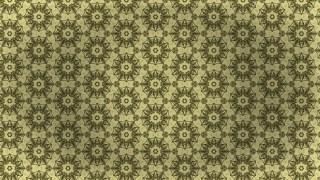 Gold Vintage Decorative Ornament Wallpaper Pattern