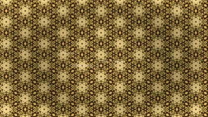 Gold Vintage Seamless Ornament Wallpaper Pattern Design Template