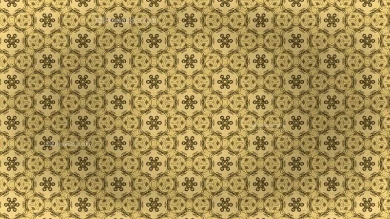 Vintage Ornament Pattern Background Template