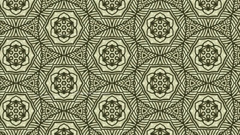 Green Vintage Decorative Ornament Background Pattern