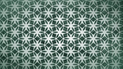 Green Vintage Floral Seamless Pattern Wallpaper Design Template