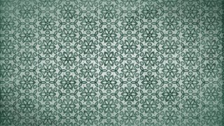 Green Vintage Ornamental Seamless Pattern Wallpaper Template