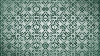 Green Vintage Seamless Wallpaper Background