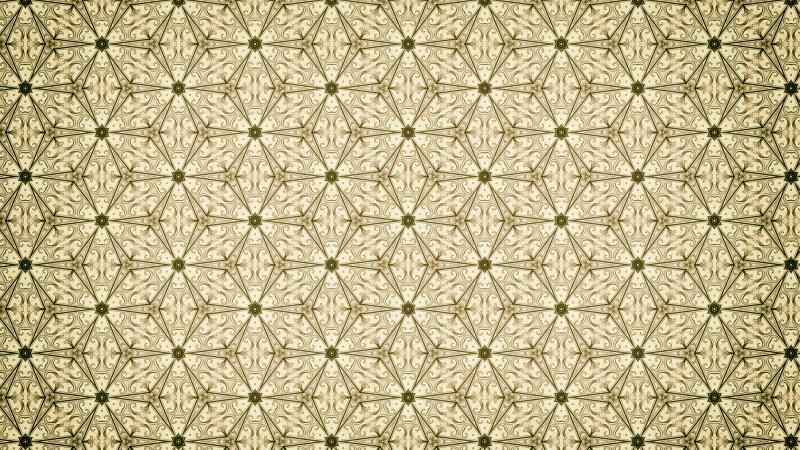 Green and Beige Vintage Ornamental Seamless Pattern Background Design