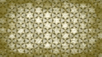 Green and Beige Vintage Ornament Wallpaper Pattern Design
