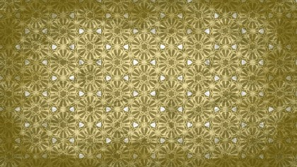 Green and Beige Vintage Ornamental Seamless Pattern Background Design