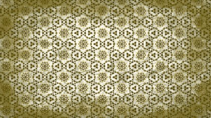 Green and Beige Vintage Seamless Ornamental Pattern Background