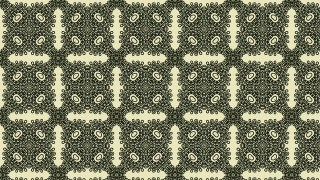 Green and Beige Vintage Ornamental Seamless Pattern Wallpaper Template