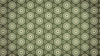 Green and Beige Vintage Seamless Floral Wallpaper Pattern
