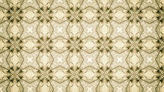Green and Beige Vintage Floral Wallpaper Background