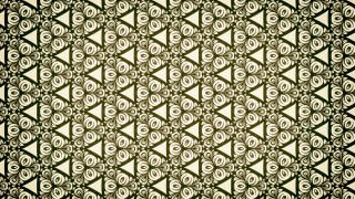 Green and Beige Ornamental Vintage Background Pattern