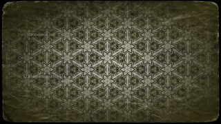 Green and Black Vintage Seamless Wallpaper Background