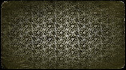 Green and Black Vintage Seamless Wallpaper Pattern Template