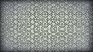 Green and Gray Vintage Ornamental Seamless Pattern Wallpaper Template