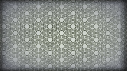 Green and Gray Vintage Ornament Wallpaper Pattern Design