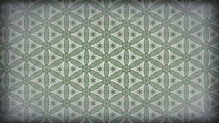 Green and Grey Vintage Ornamental Pattern Background