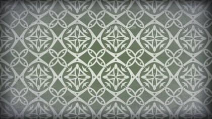 Green and Grey Vintage Decorative Ornament Background Pattern
