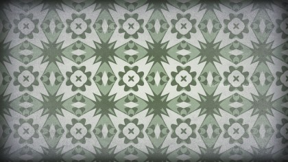 Green and Gray Vintage Ornament Background Pattern Image