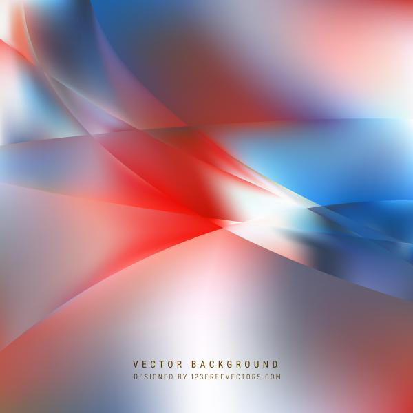 Blue Red Abstract Background