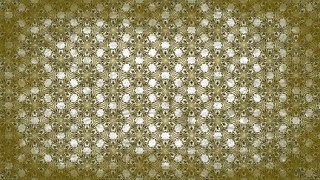 Green and White Vintage Flower Wallpaper Pattern