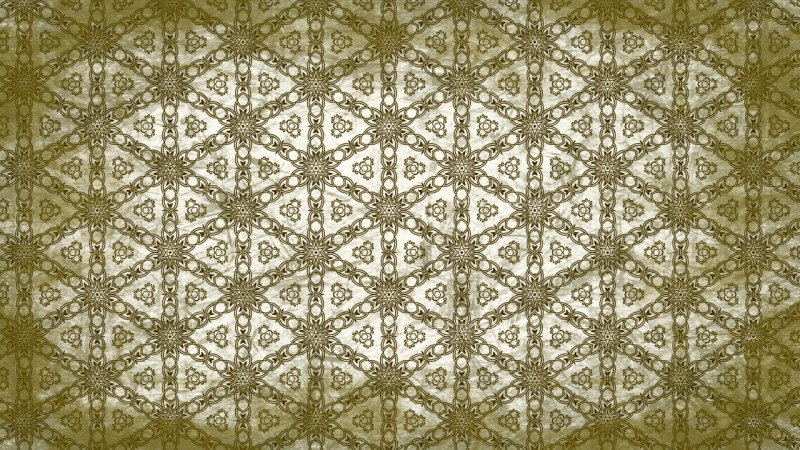 Green and White Vintage Seamless Ornamental Pattern Background