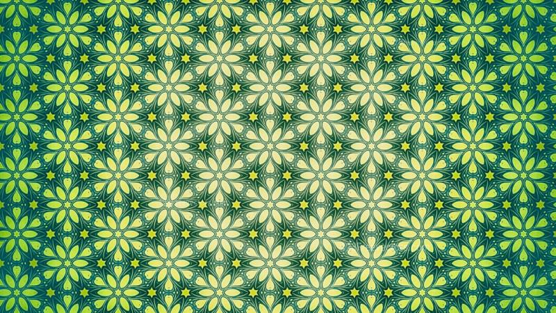 Ornamental Wallpaper Pattern