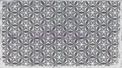 Grey Floral Seamless Pattern Background Graphic
