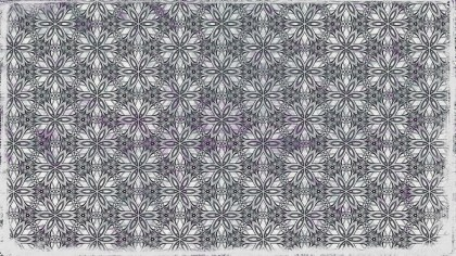 Grey Ornamental Seamless Pattern Background Template