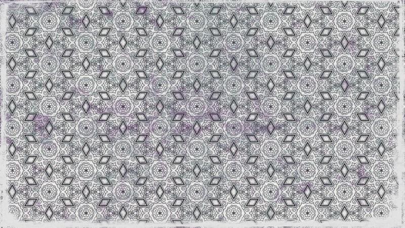 Grey Ornament Background Pattern Image