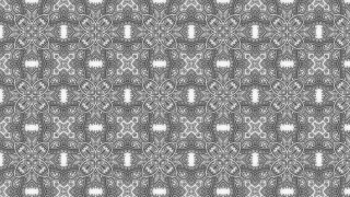 Grey Floral Seamless Pattern Wallpaper Graphic