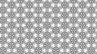 Gray Ornamental Pattern Wallpaper