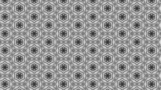 Gray Seamless Ornamental Pattern Wallpaper