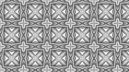 Grey Decorative Floral Ornament Wallpaper Pattern Design