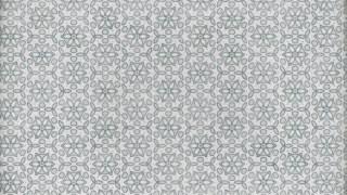 Gray Seamless Floral Wallpaper Pattern