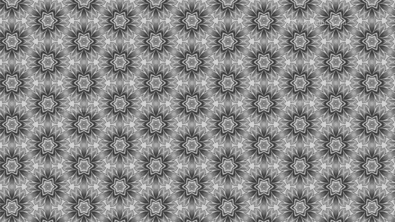 Grey Floral Pattern Background