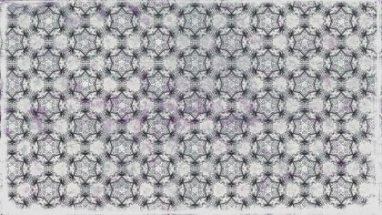 Gray Vintage Flower Wallpaper Pattern