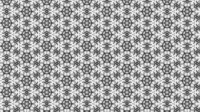 Grey Seamless Floral Vintage Pattern Background Image
